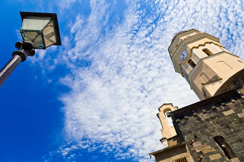 Il campanile della chiesa di Santa Margherita d'Antiochia