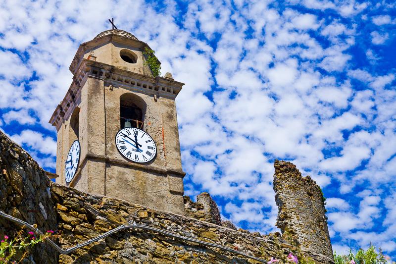 Il campanile della chiesa dei Frati