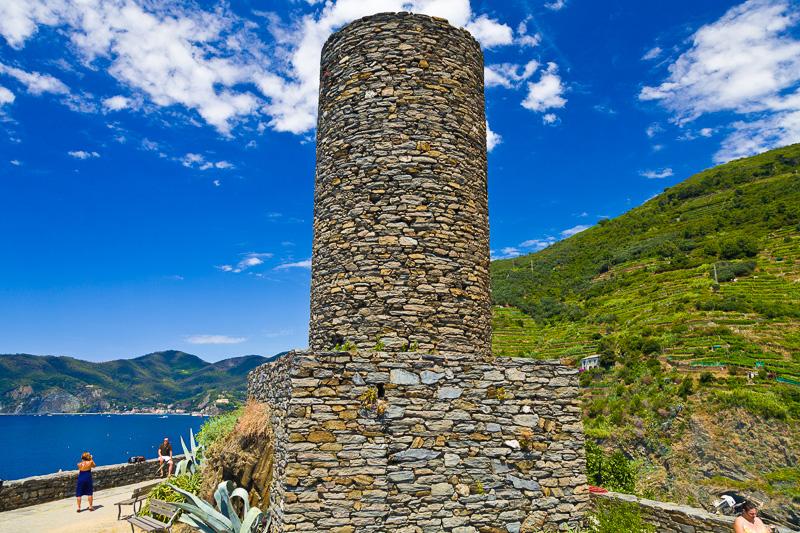 La torre del castello dei Doria
