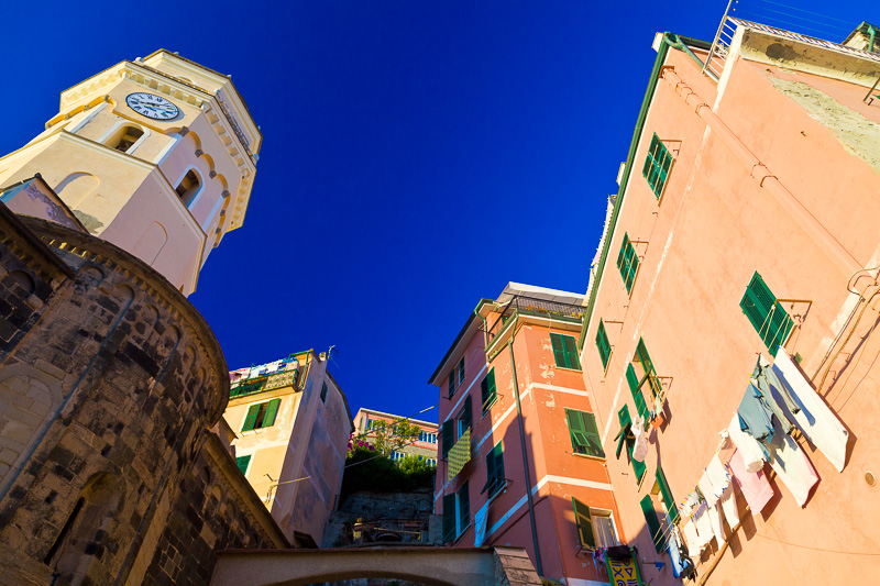Il campanile della chiesa di Santa Margherita