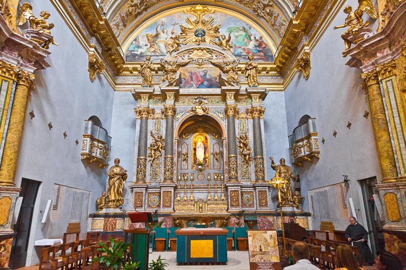 La chiesa di Santa Maria sopra Minerva