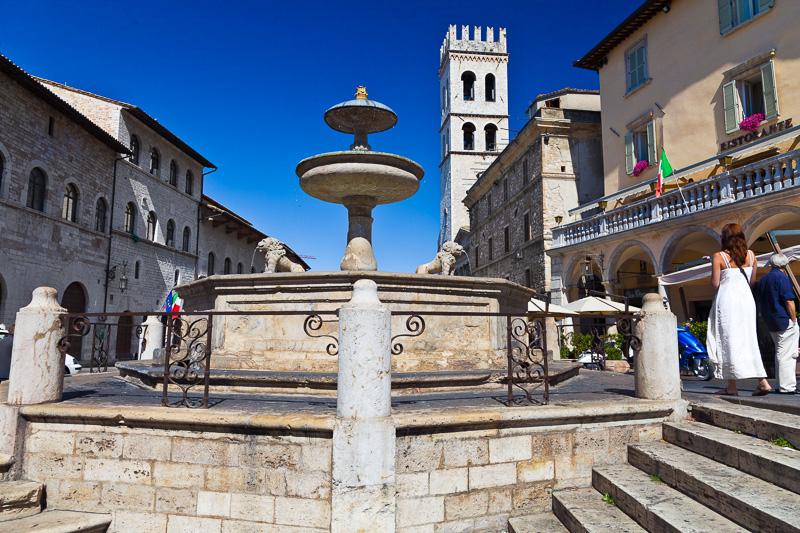 La fontana di Giovanni Martinucci