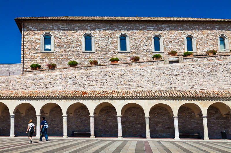 Piazza inferiore di San Francesco