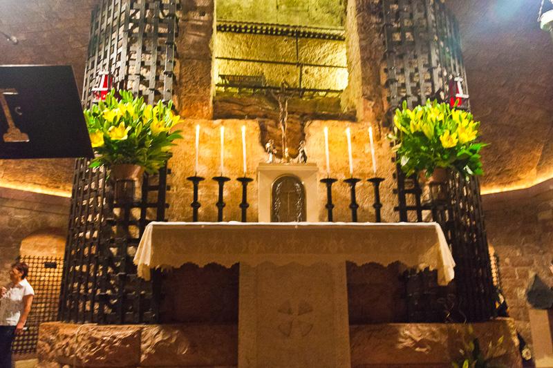 La cripta della Basilica inferiore di San Francesco