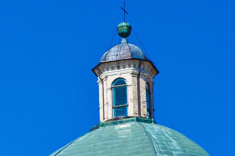 La lanterna della Cupola della Cattedrale di San Rufino