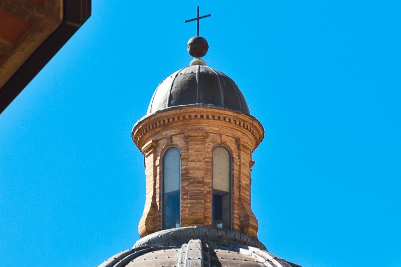 La lanterna della Cupola maggiore della chiesa Nuova