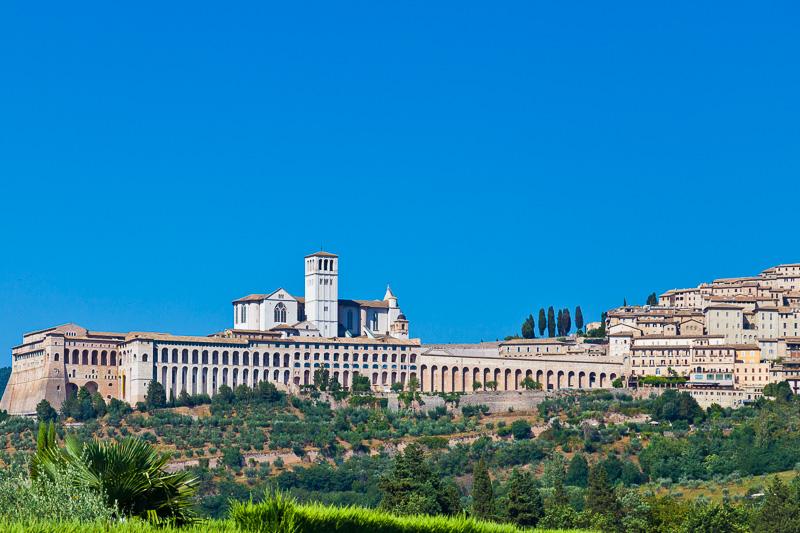 Basilica e il convento di San Francesco