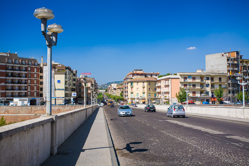 Il ponte Vanvitelli