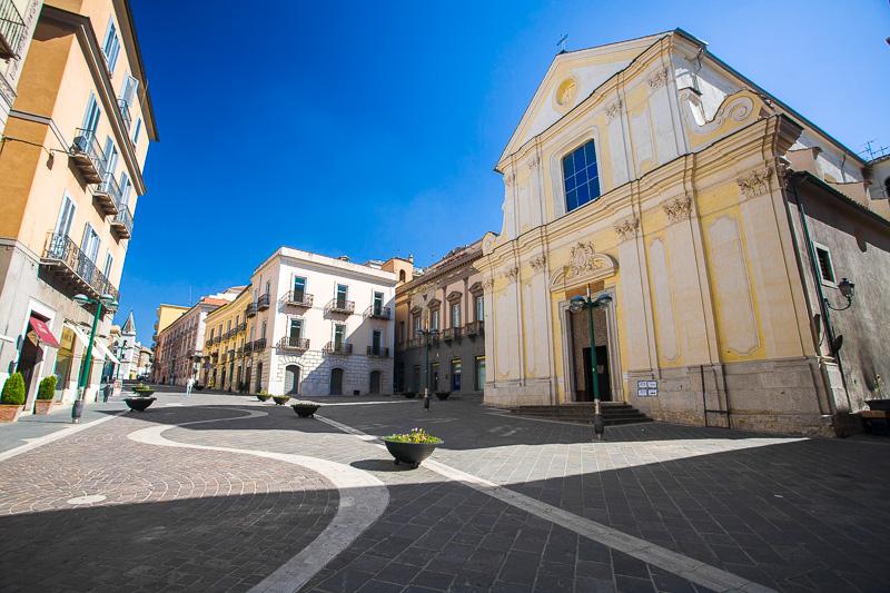 La basilica di San Bartolomeo apostolo