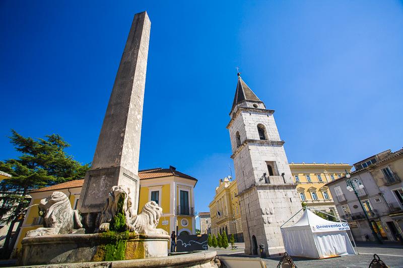 La fontana Chiaramonte