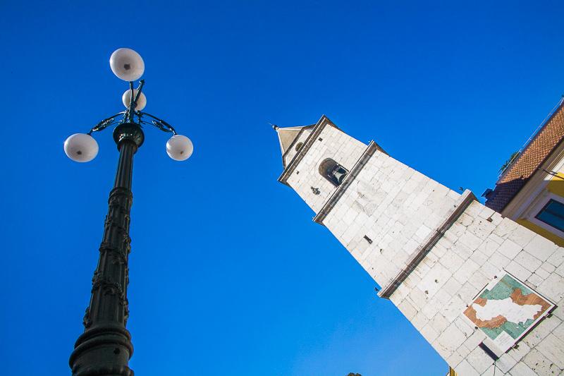 Il campanile della chiesa di Santa Sofia