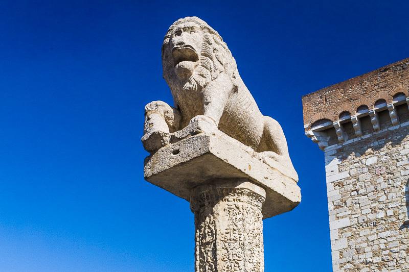 Il monumento del Leone