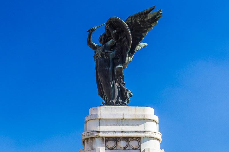 Il monumento ai caduti di Benevento