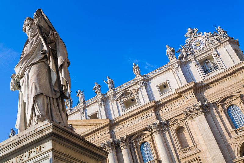 Statua di San Paolo a San Pietro