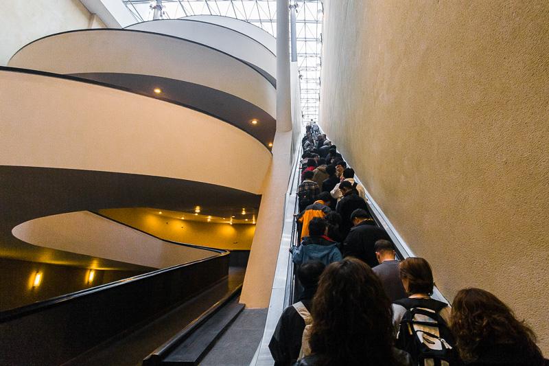 Scala mobile dei Musei Vaticani