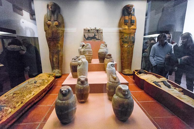 Mummie nei Musei Vaticani