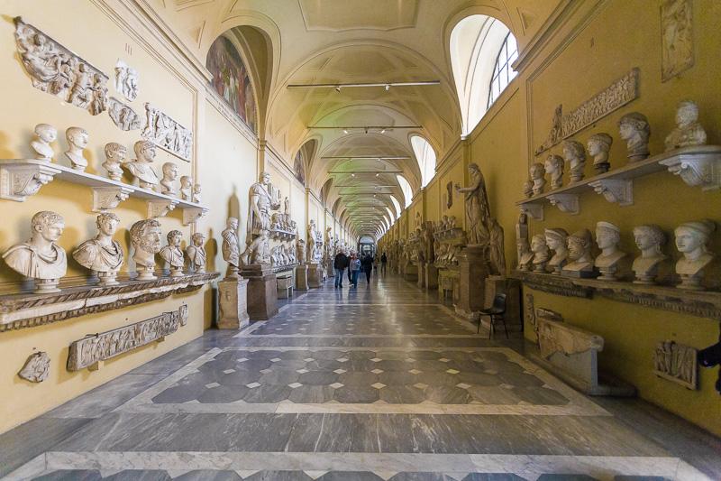 Museo Chiaramonti nel Musei Vaticani