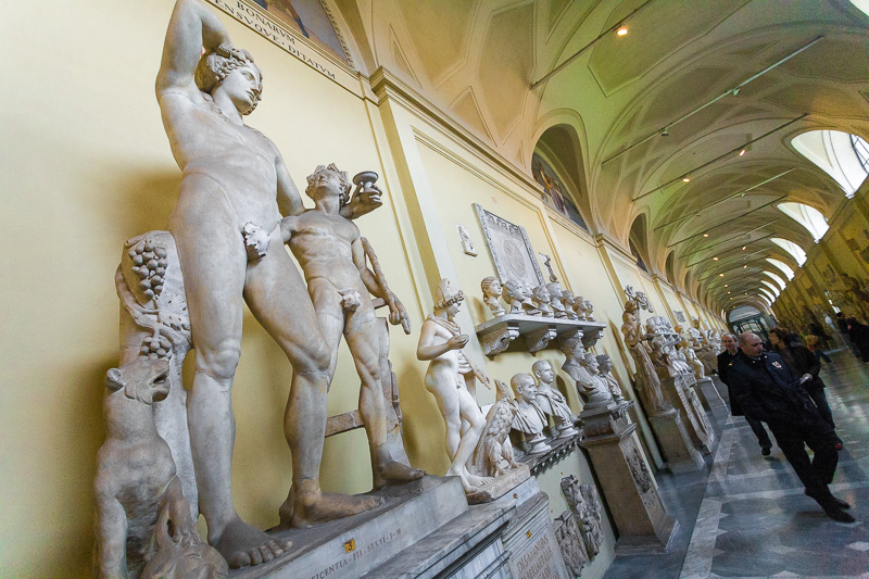 Statue nei Musei Vaticani