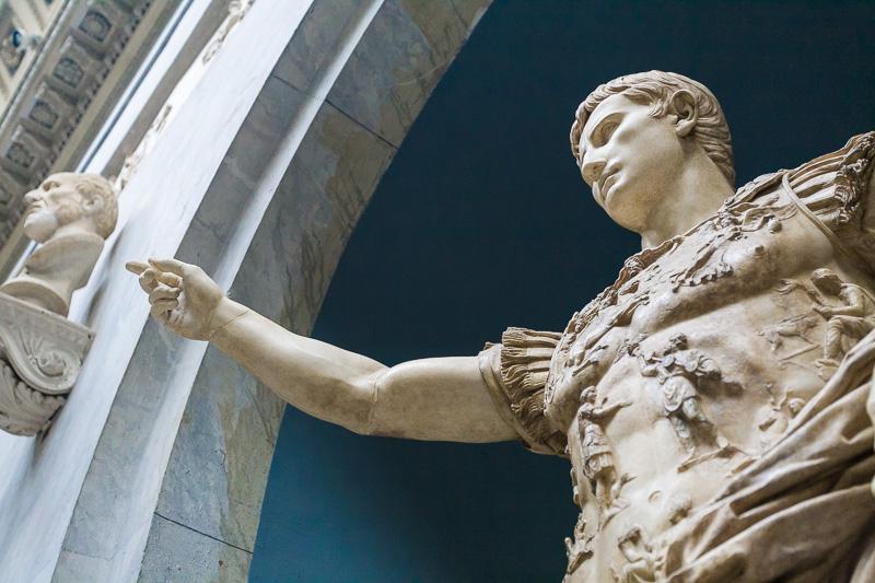 Statua di Ottaviano Augusto di Prima Porta