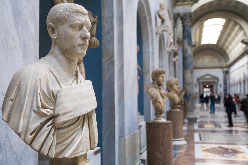 Busto dell'imperatore romano Filippo l'Arabo