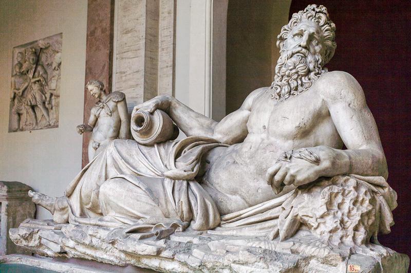Allegoria del fiume Arno nei Musei Vaticani