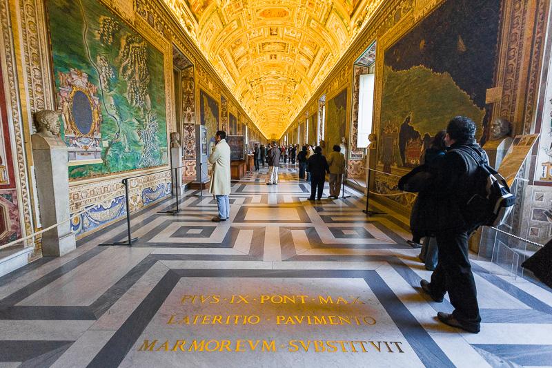 Galleria delle Carte Geografiche nei Musei Galleria delle Carte Geografiche nei Musei Vaticani