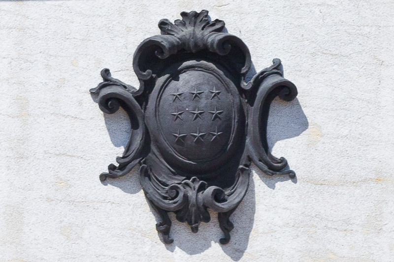 Lo stemma della città di Cassino