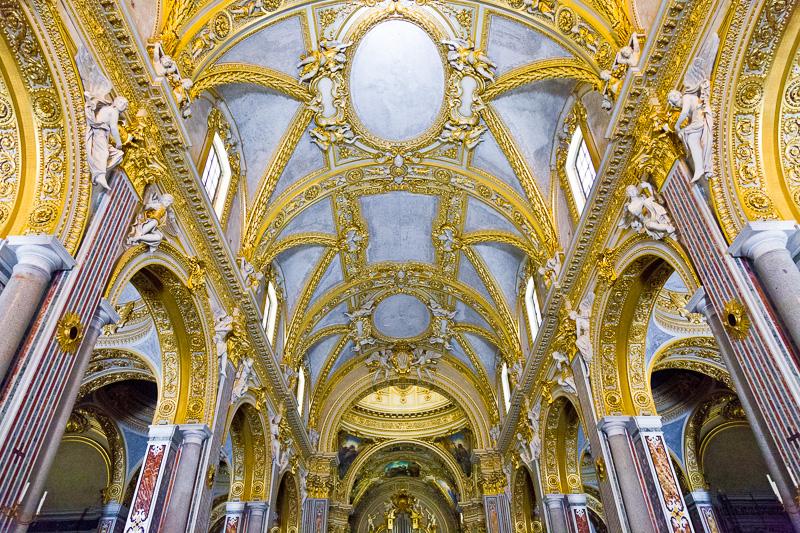 La volta della Cattedrale