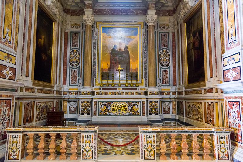 La cappella di Santi Pietro e Paolo