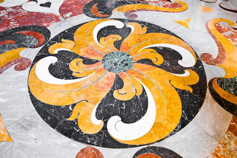 Pavimento in marmo della Basilica Cattedrale