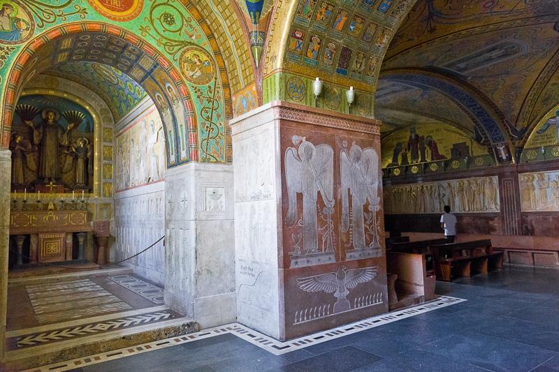 La cripta della Basilica