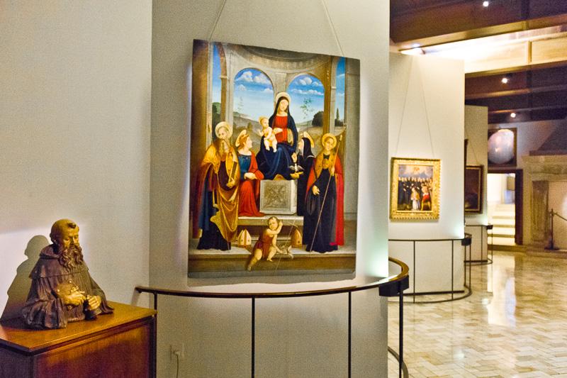 Madonna con San Benedetto, Santa Scolastica, San Placido e Santa Giustina