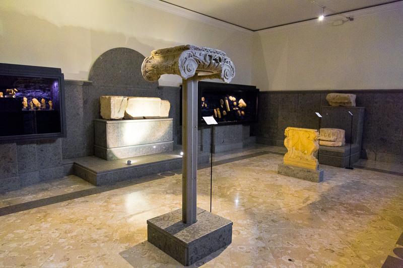 Reperti etrusci e romani