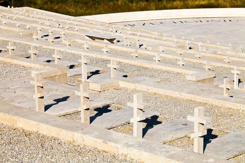 Le croci ortodosse del Cimitero di Guerra Polacco