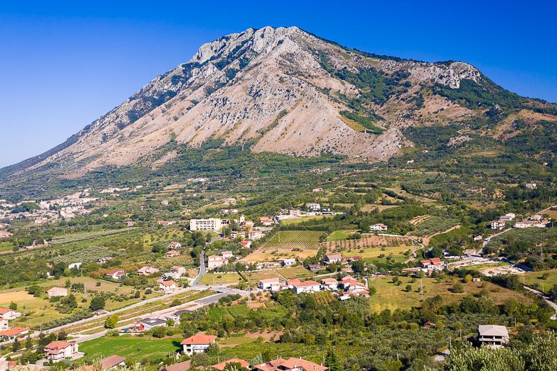 Il monte Taburno