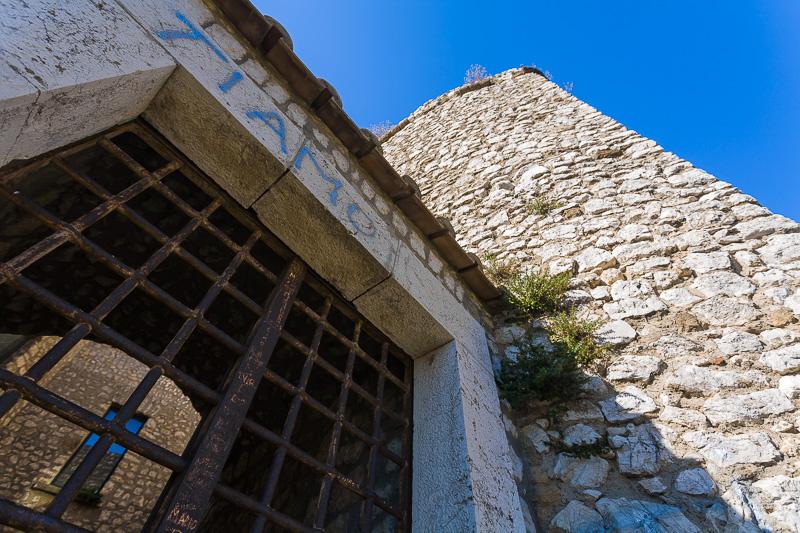 Le sbarre delle antiche carceri