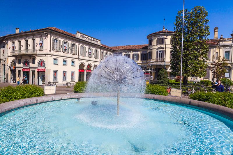 La fontana circolare