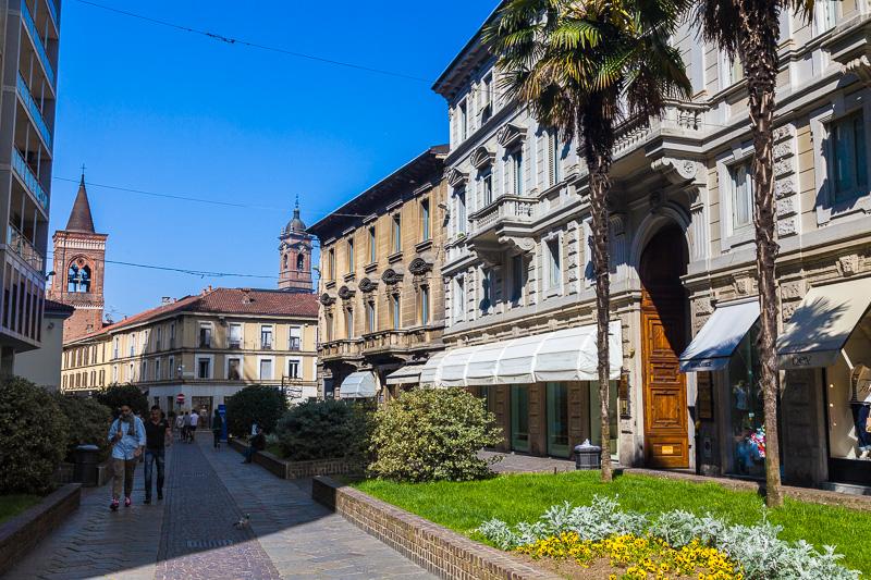 Il palazzo residenziale di via Italia