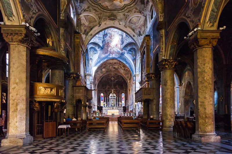 La basilica di San Giovanni Battista