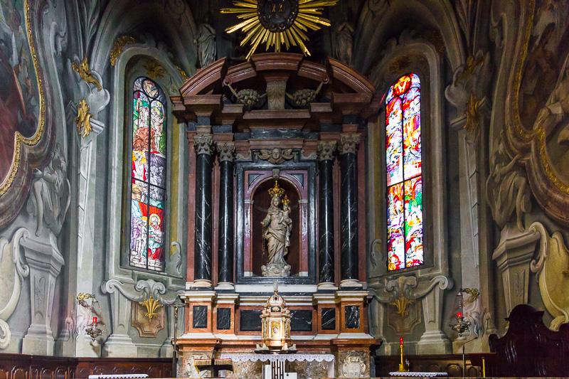 La cappella del Santo Rosario