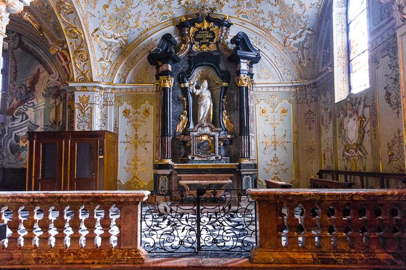 La cappella di Santa Caterina