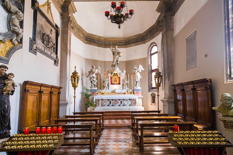 La cappella di San Giuseppe e Maria