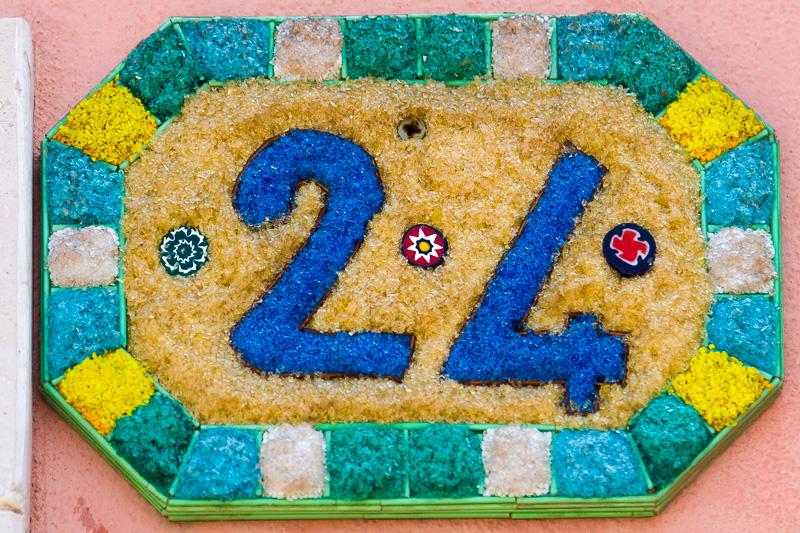 Numero civico 24