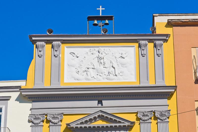 La chiesa sconsacrata di San Liborio alla Carità
