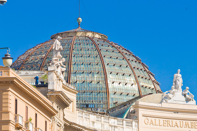 la cupola della Galleria Umberto I