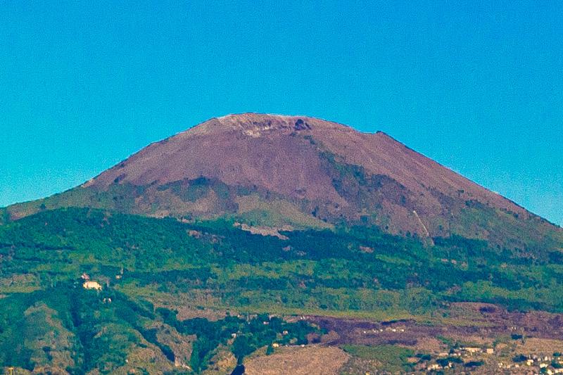 Il vulcano Vesuvio