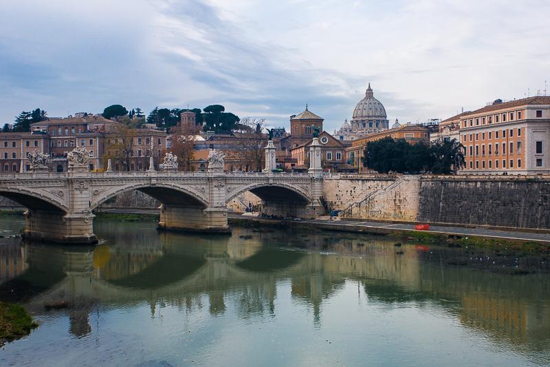 Il ponte Vittorio Emanuele II