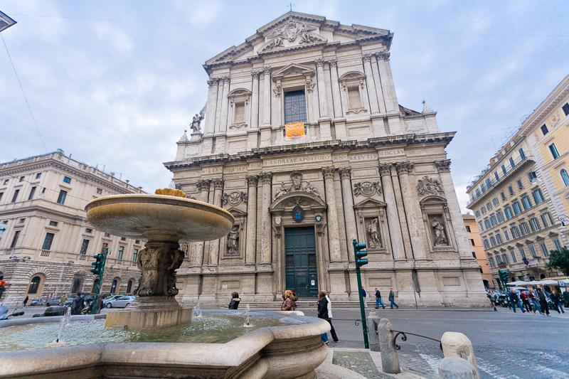La basilica di Sant'Andrea della Valle