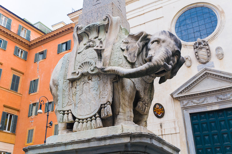 L'Elefantino del Bernini