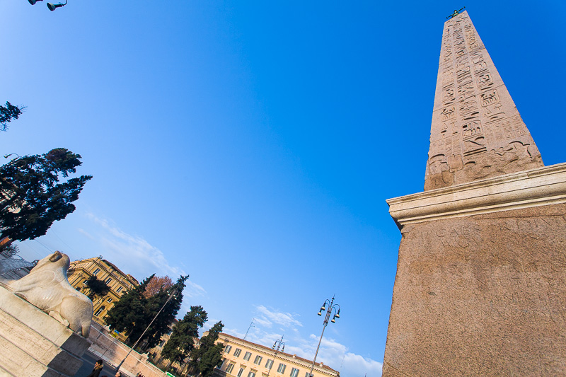 L'Obelisco Flaminio
